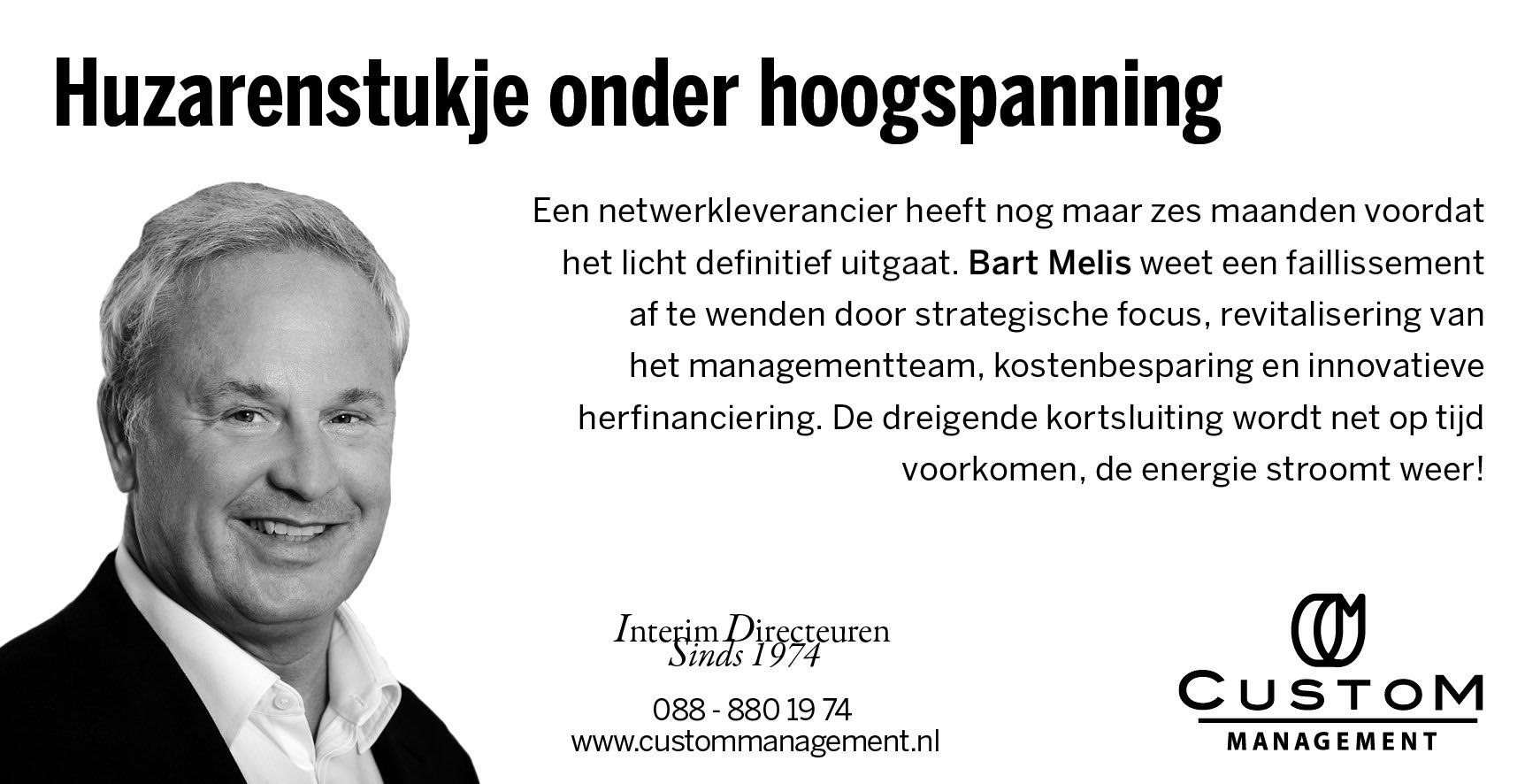 Bart Melis in FD