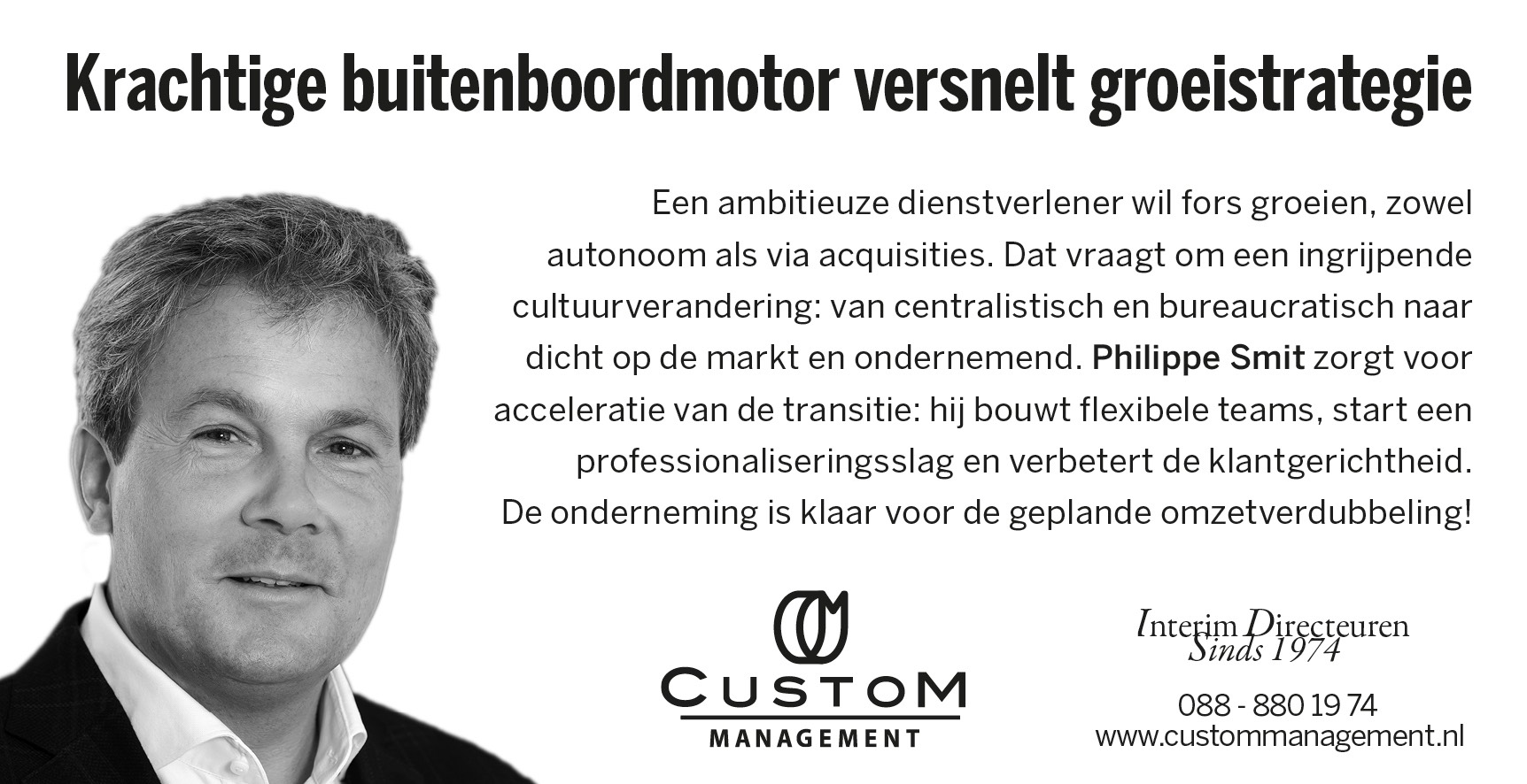 Philippe Smit in FD