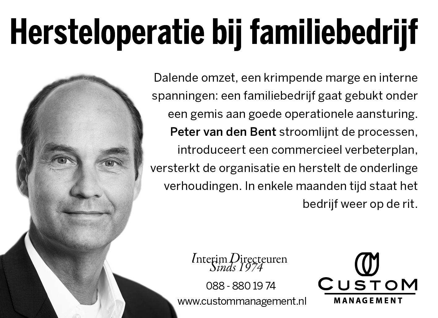 Peter van den Bent in FD